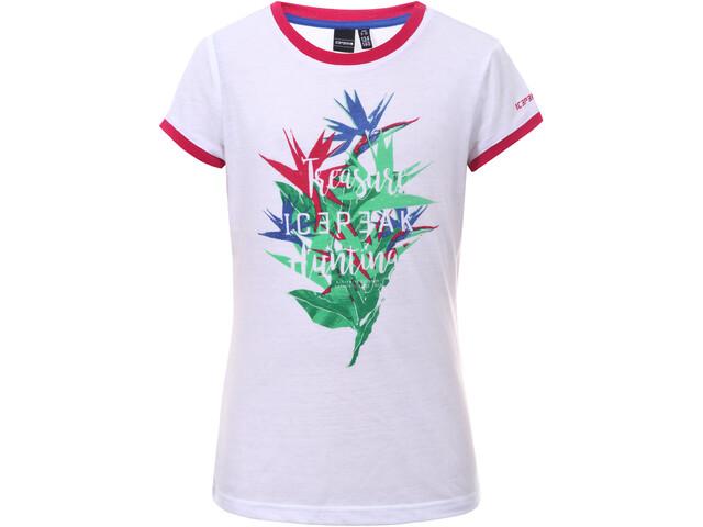 Icepeak Kamas T-Shirt Enfant, optic white